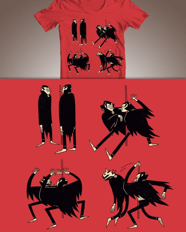 A Reflection Appears by BurritoGoblin on Threadless