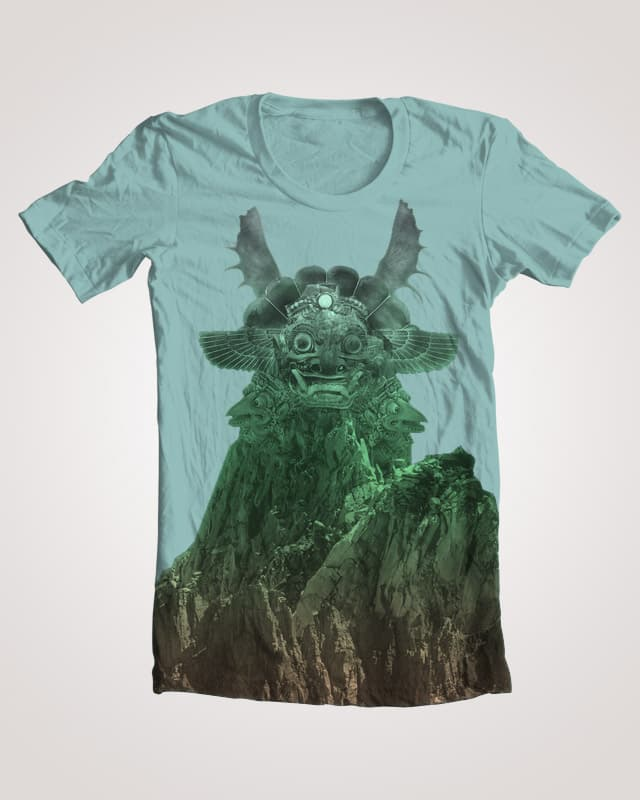 There's Monsters in them Mountains. by mockupdesignlabs on Threadless