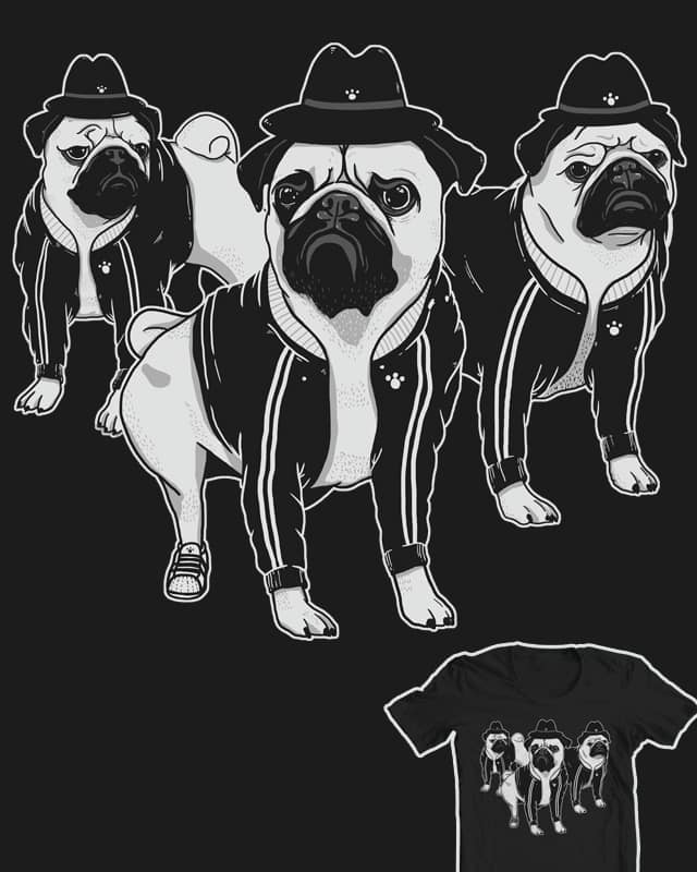 PUG DMC by 3rick05 on Threadless