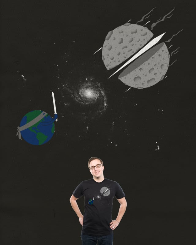 Asteroid Ninja by messing on Threadless