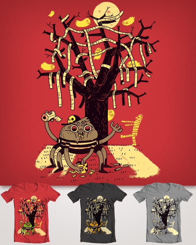 Arachnid on Elm Street by BurritoGoblin on Threadless