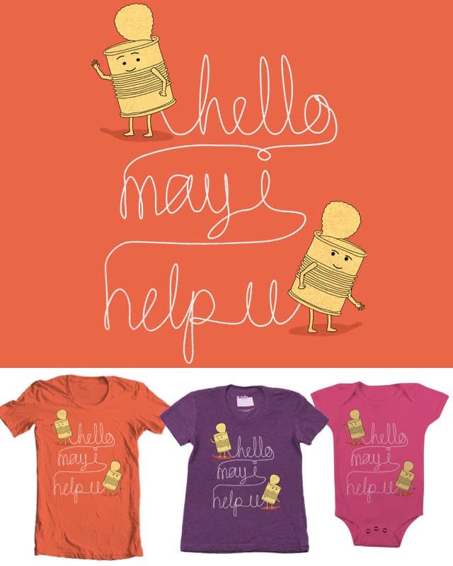 Call for Help by free_agent08 on Threadless