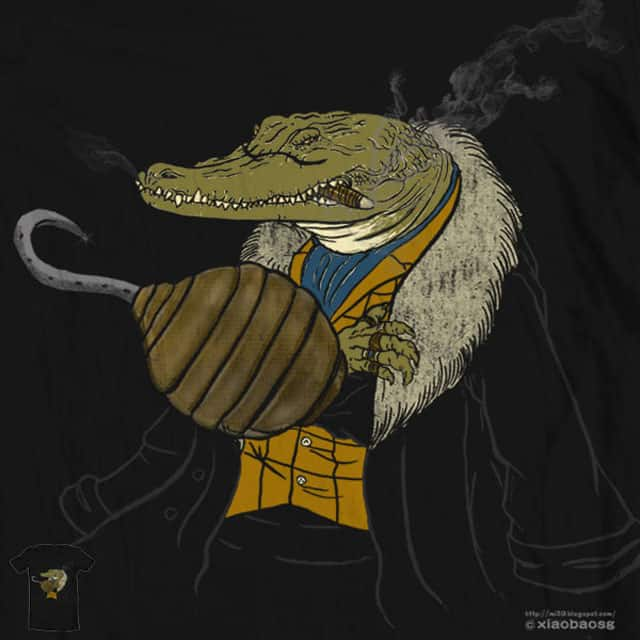 Mr Crocodile by xiaobaosg on Threadless