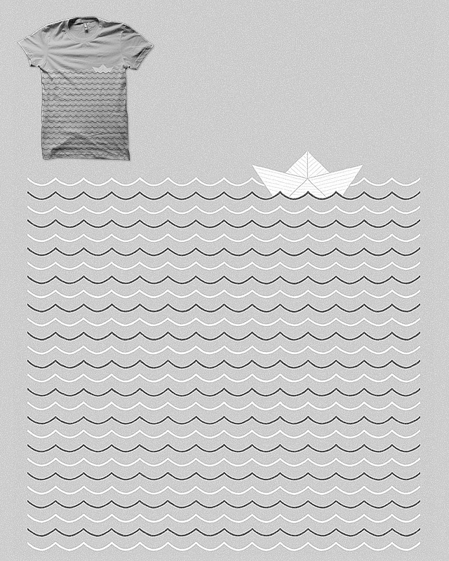 The Paper Boat by Binxent on Threadless