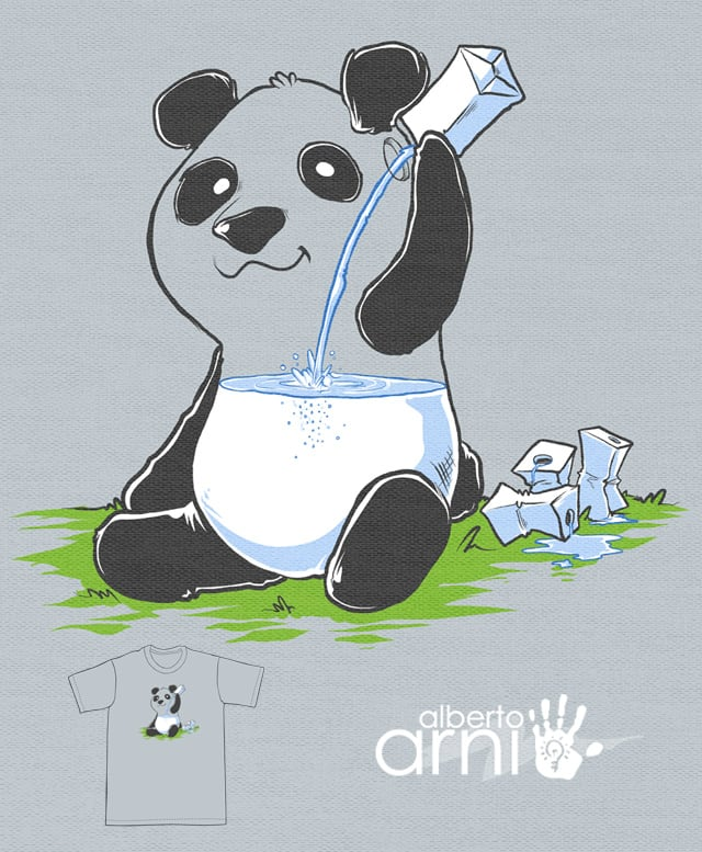 Panda in my Fillings by albertoarni on Threadless