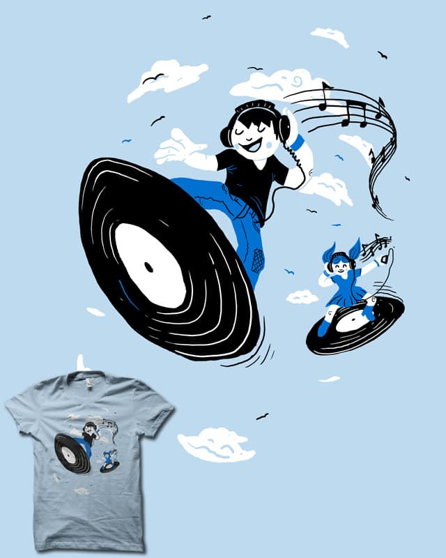 Surfing The Beats by biotwist on Threadless