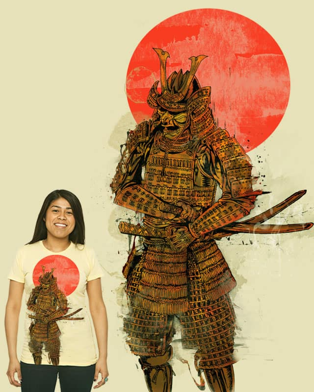 The Last Samurai by hero mujahid on Threadless