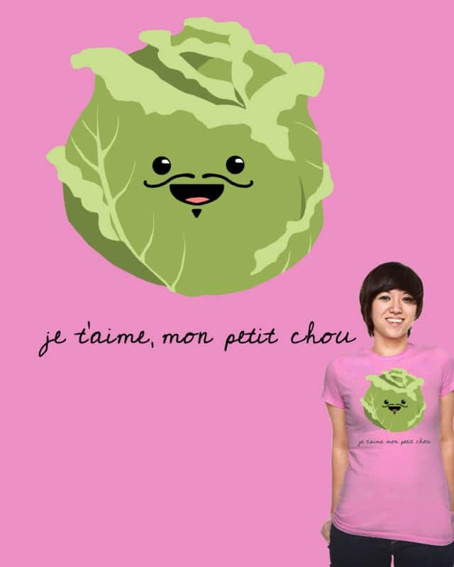 I Love You, My Darling (Cabbage) by Montezuma300 on Threadless