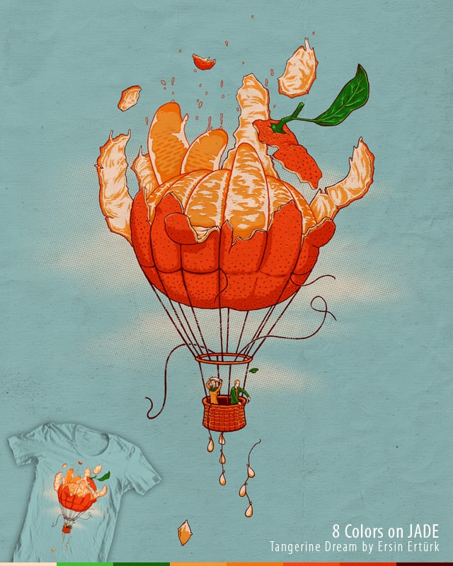 Tangerine Dream by ersinerturk on Threadless