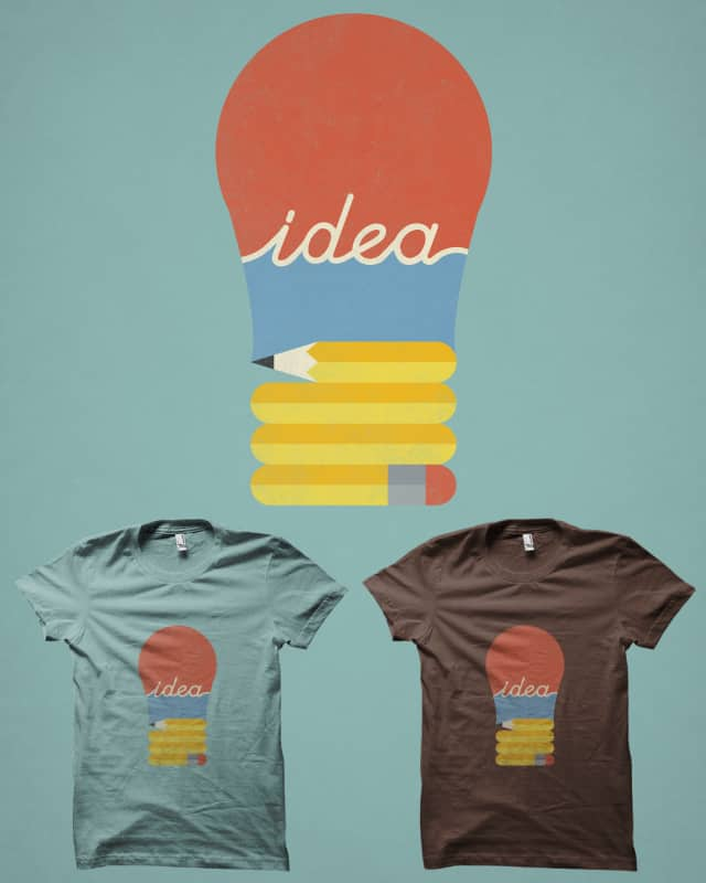 I've Got An Idea by filiskun on Threadless
