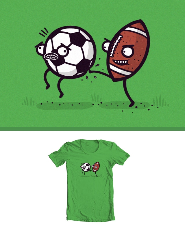 Football by randyotter3000 on Threadless