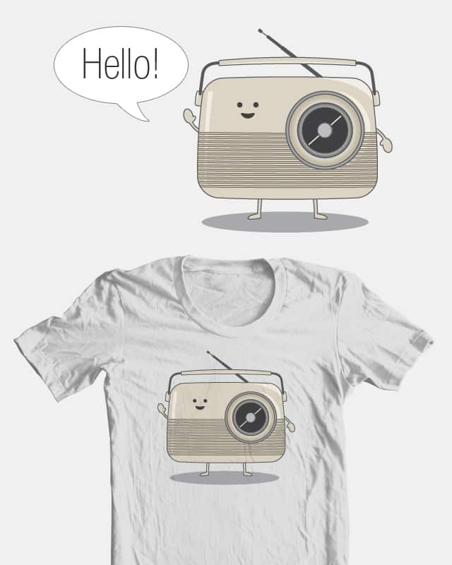 Radio Wave by lauren.e.cannon on Threadless
