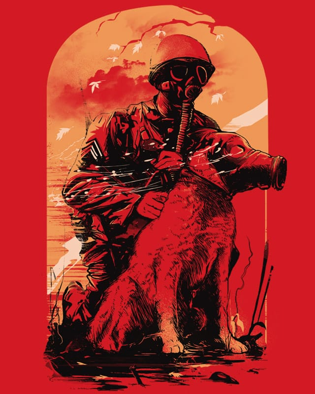 Dogs Of War V2 by iamrobman on Threadless
