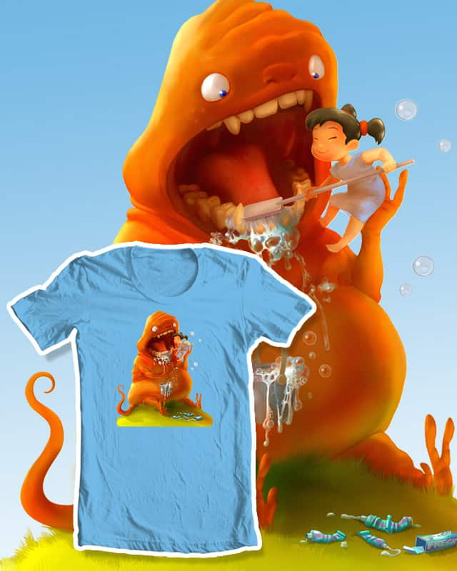 Brush Your Teeth! by Dan-ka on Threadless