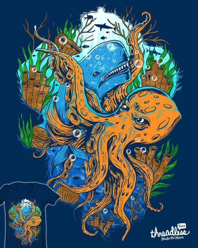 """The Epic Battle"" by Agimat ni Ingkong on Threadless"