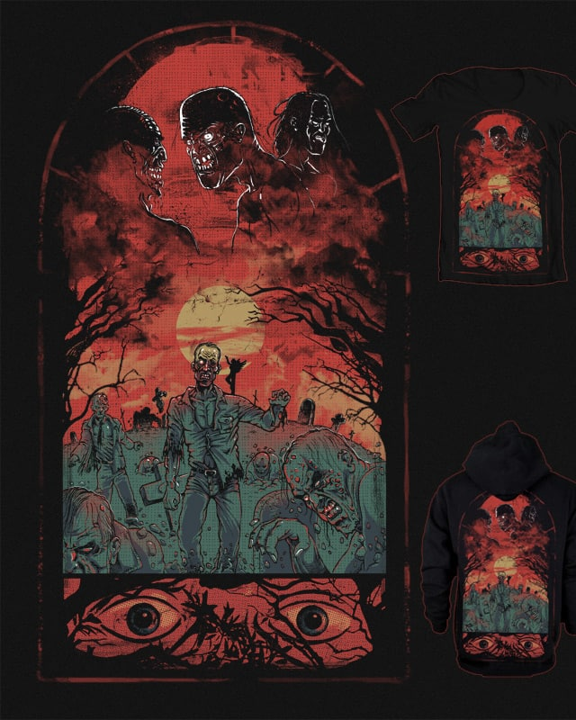 Day that the graves gave up their dead by RicoMambo on Threadless