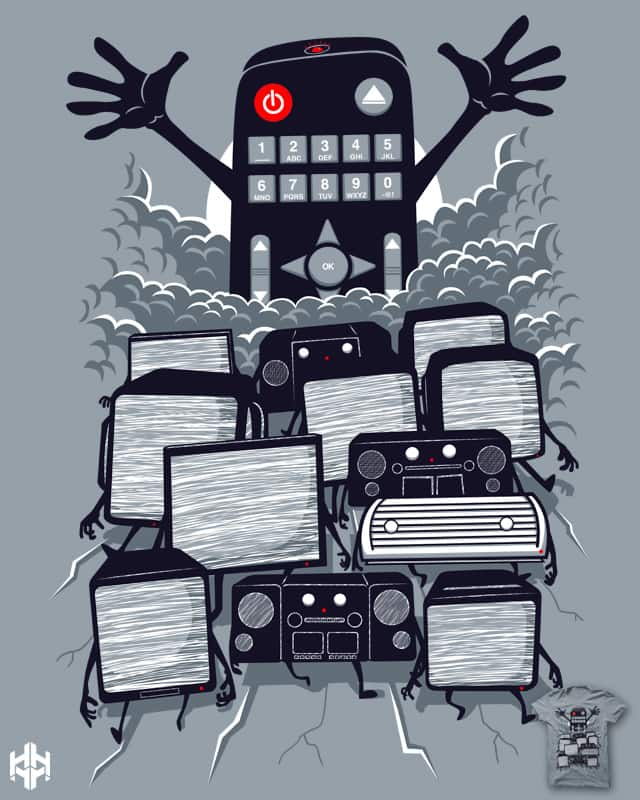 One Remote To Rule Them All by sayahelmi on Threadless