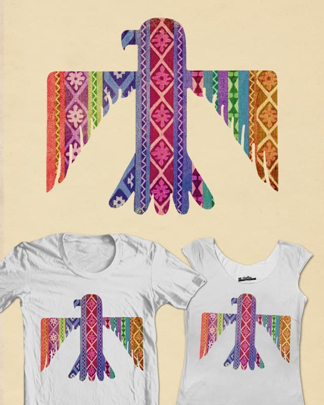 Rainbowbird by igo2cairo on Threadless