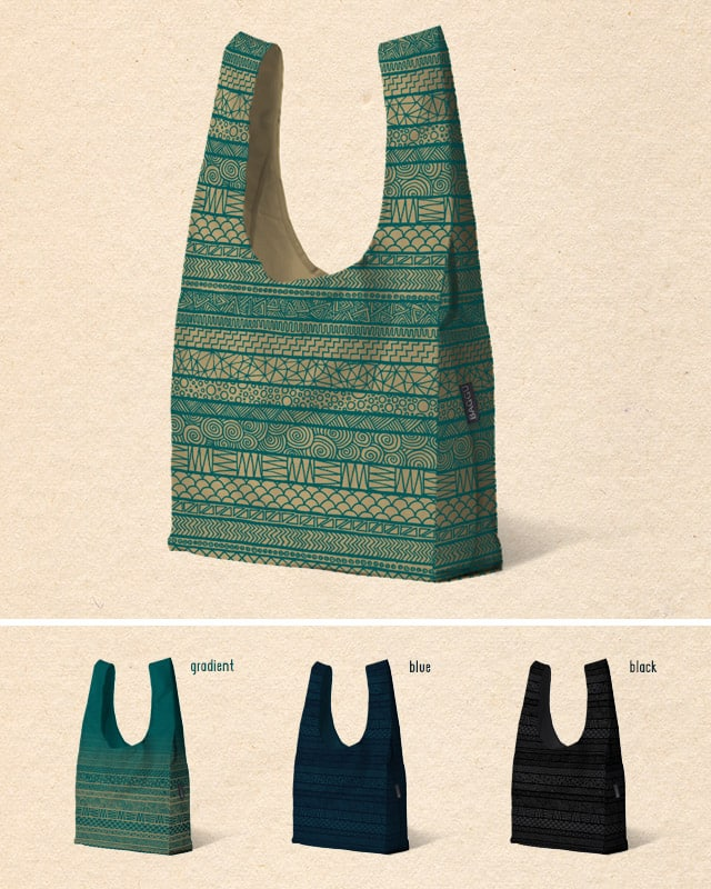 Pattern Tote by speakerine on Threadless