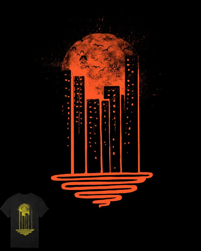 Melting Moon by barmalisiRTB on Threadless