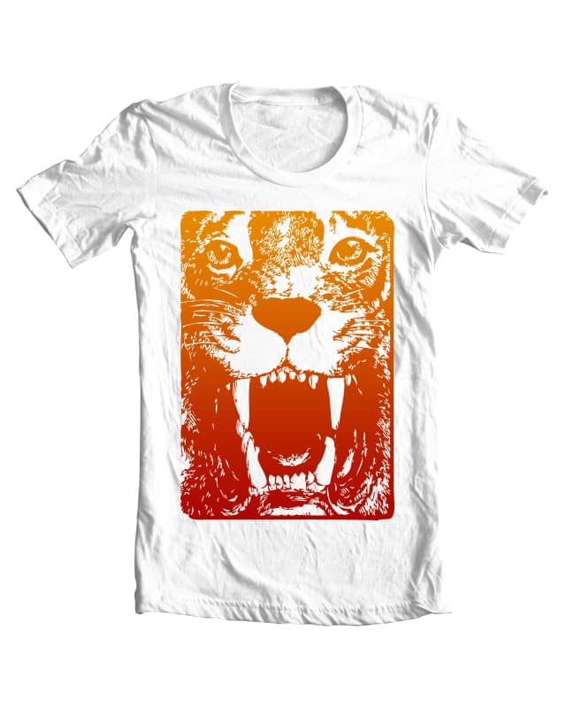 Tiger by michaelrocz on Threadless