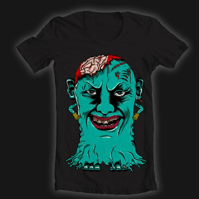 scary brain by chandru524 on Threadless