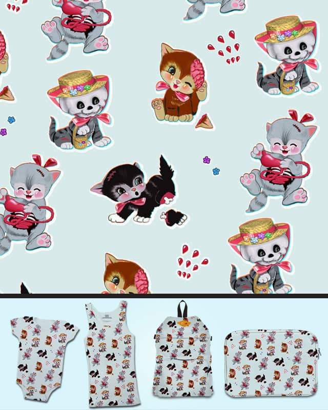 Zombie Cats by anion2 on Threadless