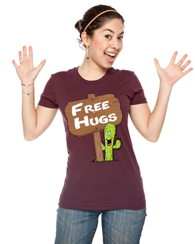Free Hugs by shaddx on Threadless
