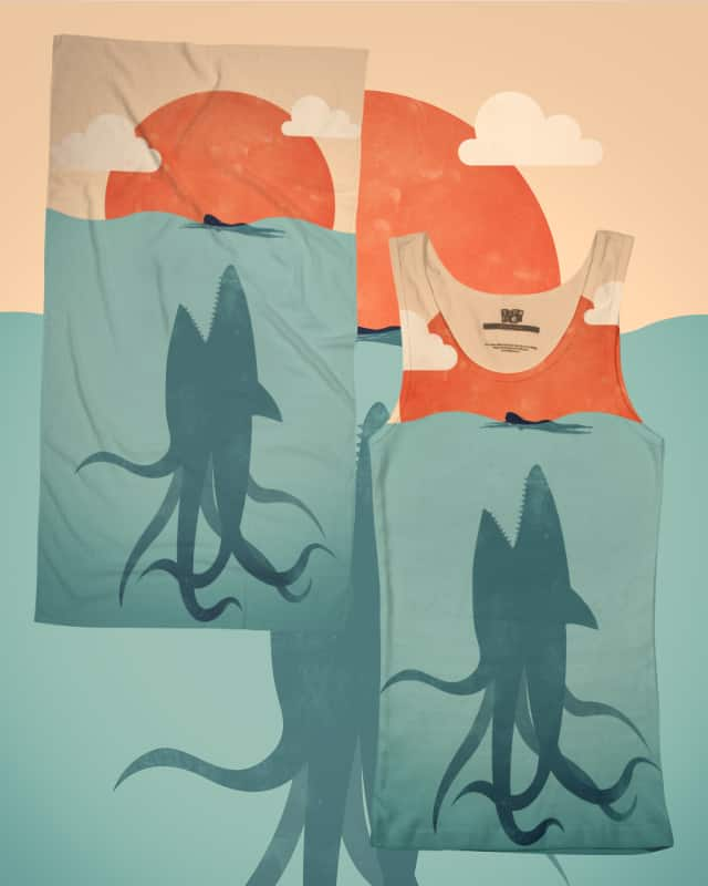 Sharktopus by filiskun on Threadless