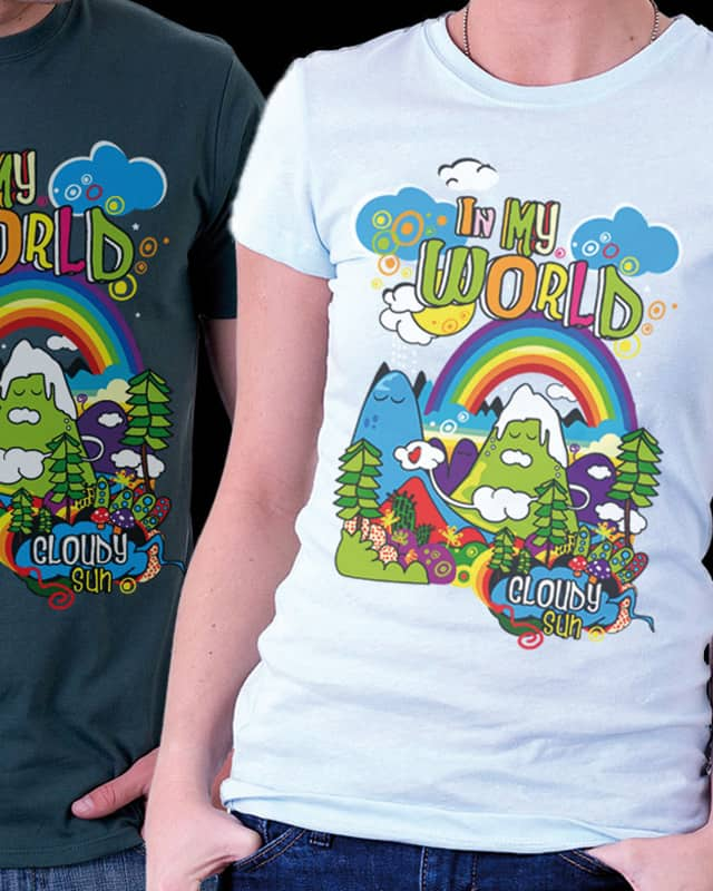 my world by kang98 on Threadless