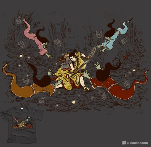 Cave Raider by xiaobaosg on Threadless