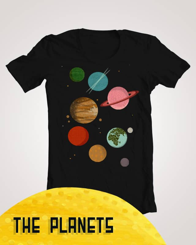 The Planets by AndreaLauren on Threadless