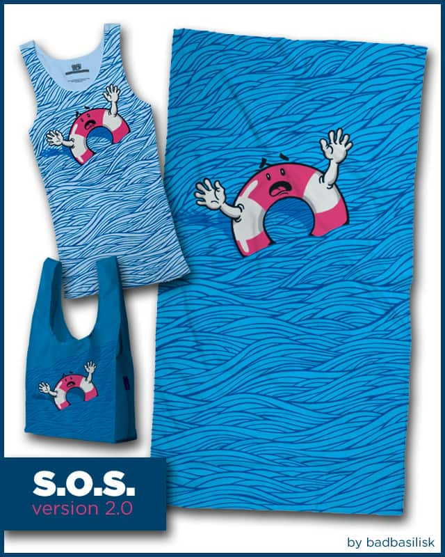 SOS (version 2.0) by badbasilisk on Threadless