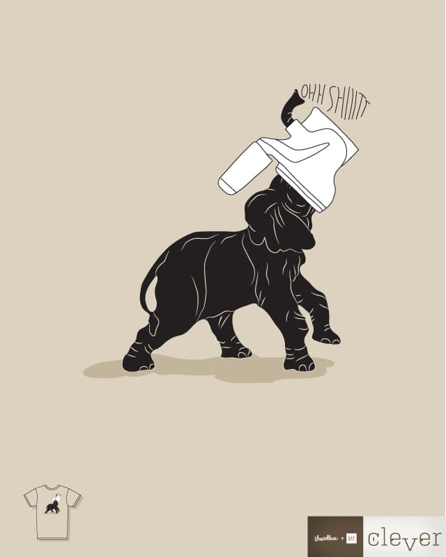 Ohh Shiiitt! by halfgotten on Threadless