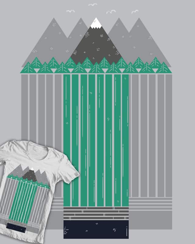 Graphite Peak by PeculiarTiffany on Threadless