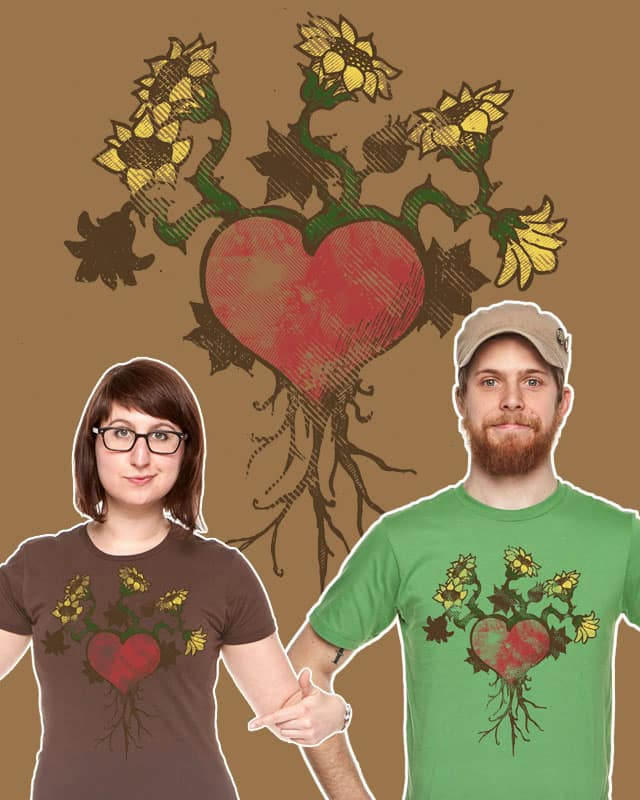 Rooted in My Heart by yivviepants on Threadless