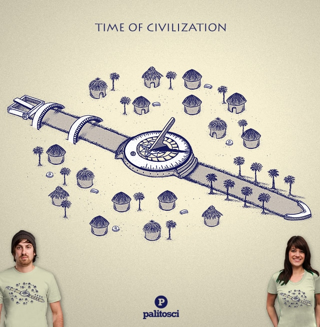 Time of Civilization by palitosci on Threadless