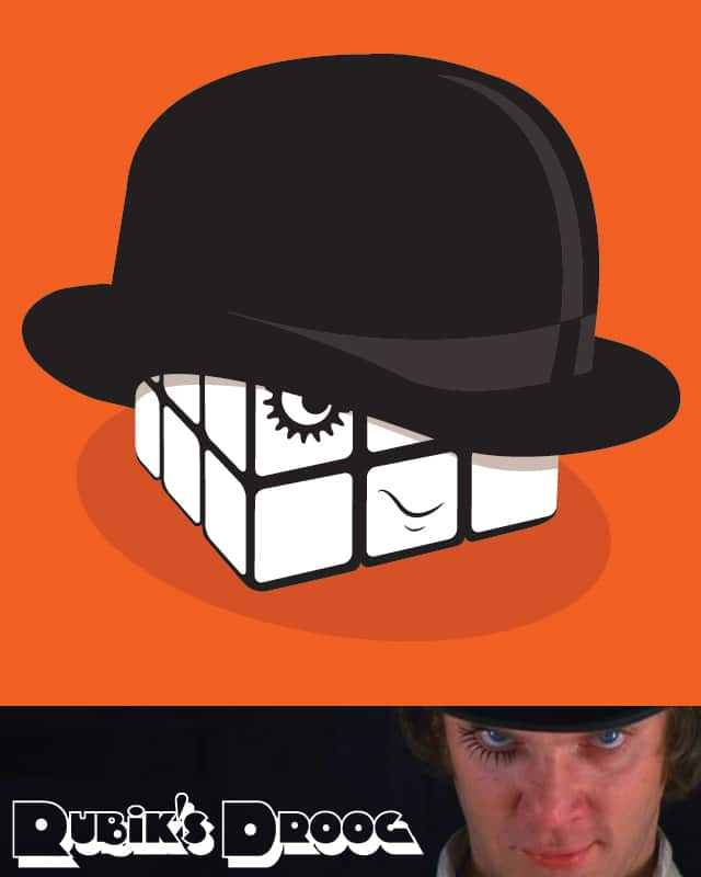 Rubik's Droog by BeanePod on Threadless