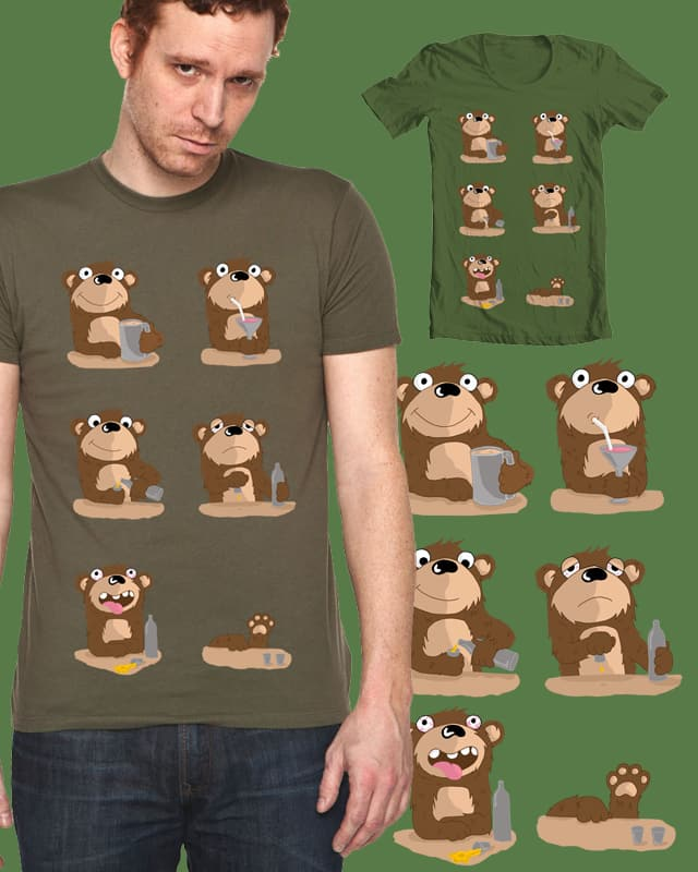 Bears night out by ashedgreg on Threadless