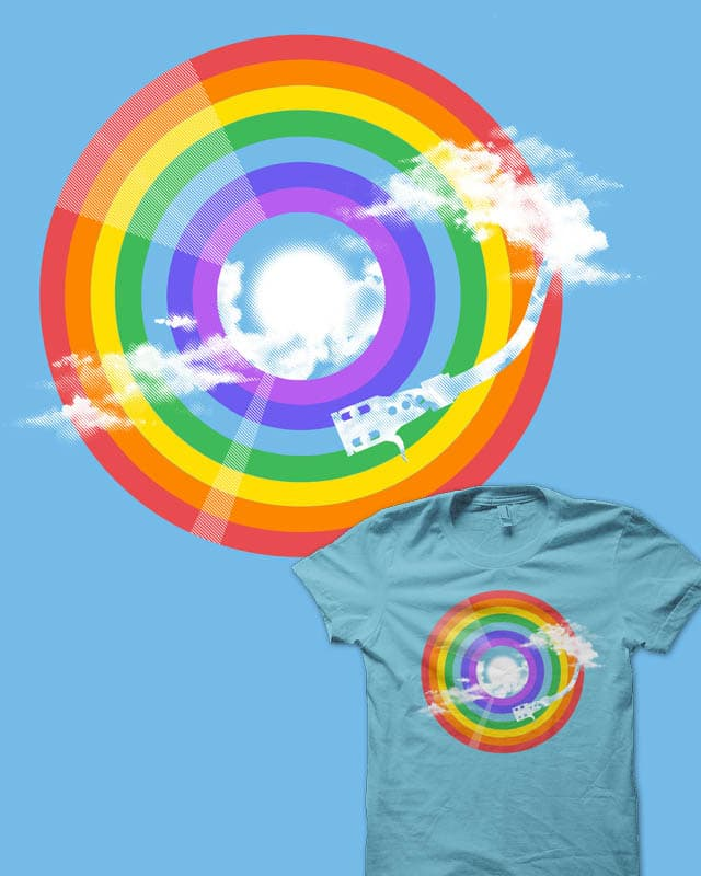 The Rainbow Song by rejagalu on Threadless