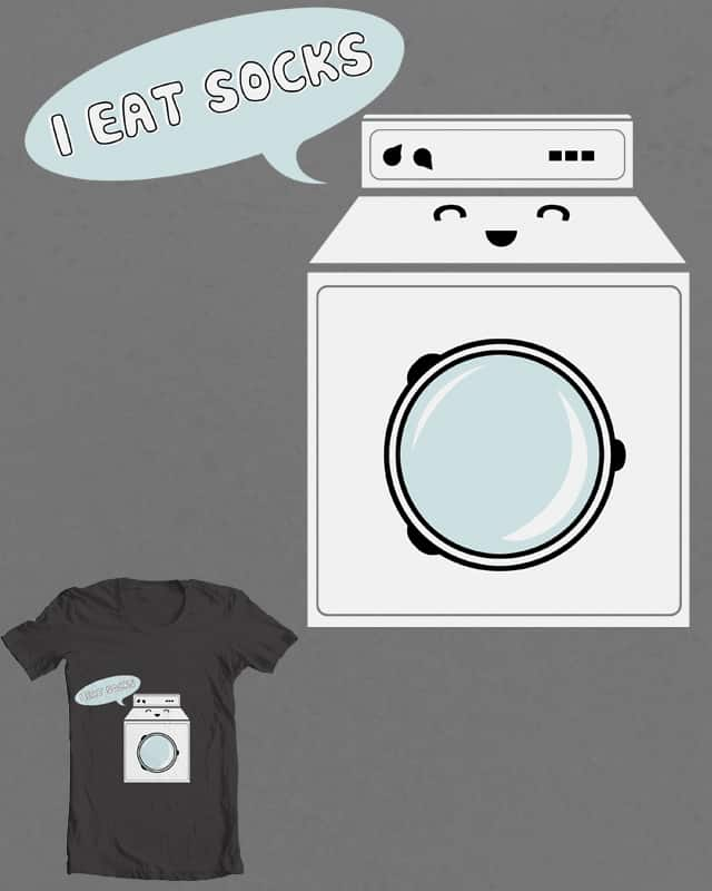 Laundry Muncher by Evan_Luza on Threadless