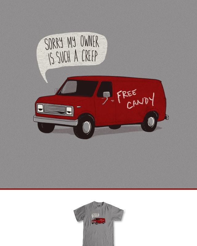 Creeper Van by murraymullet on Threadless