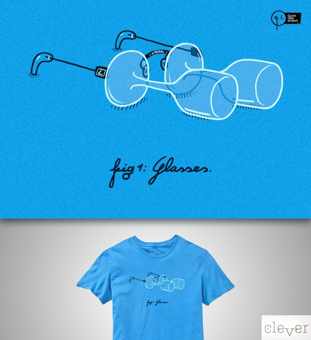 Glasses by micheleficeli on Threadless