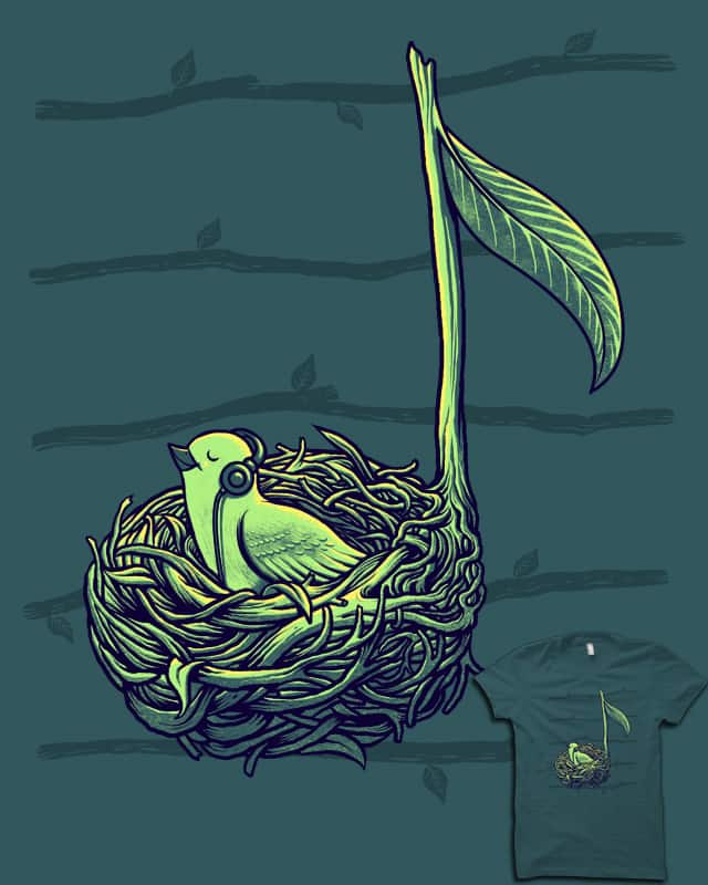 Sound Of Nature by ES427 on Threadless