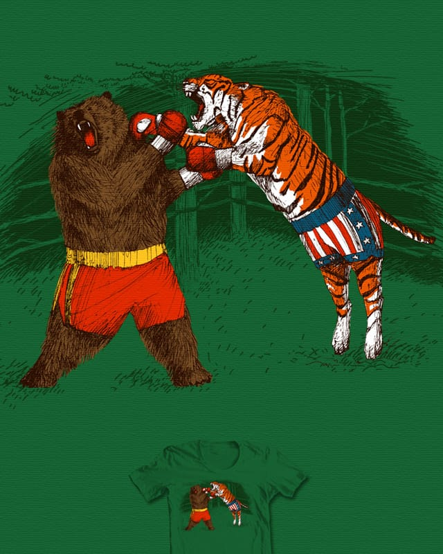 Rumble in the Jungle by Boiled fly on Threadless
