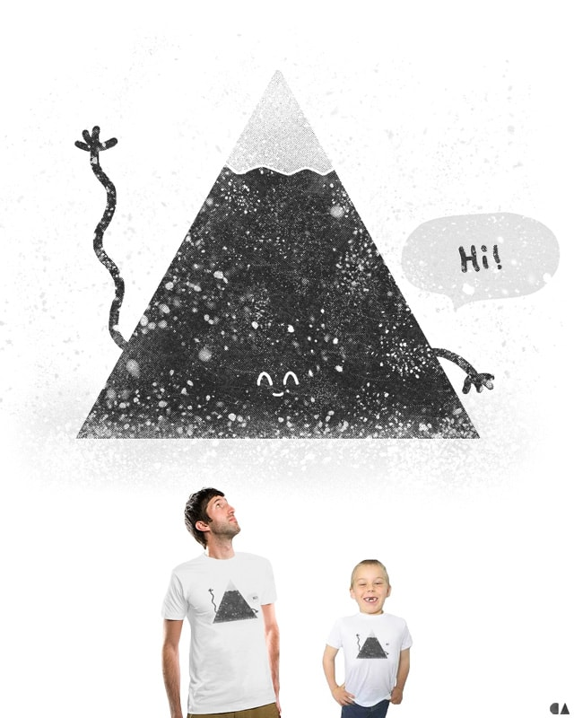 Happy Mountain by coyote alert on Threadless