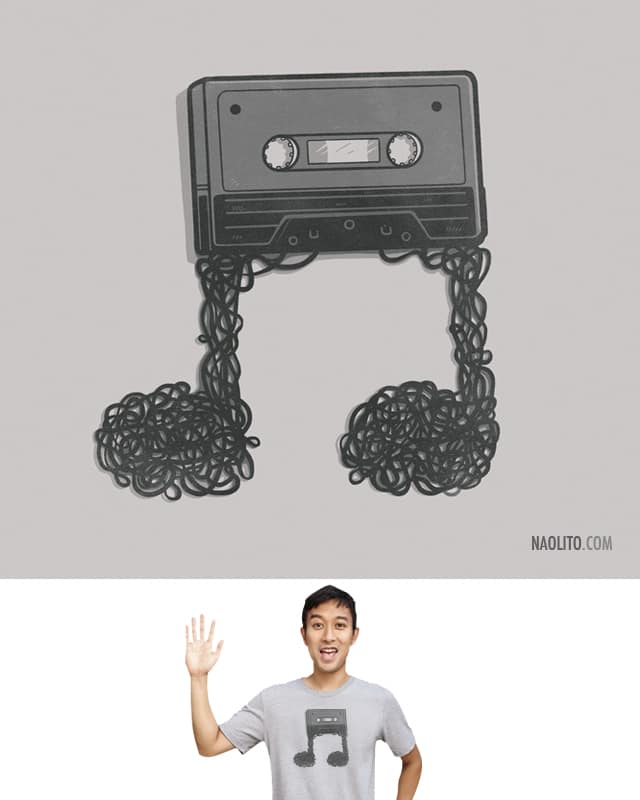 Made of Music by Naolito on Threadless