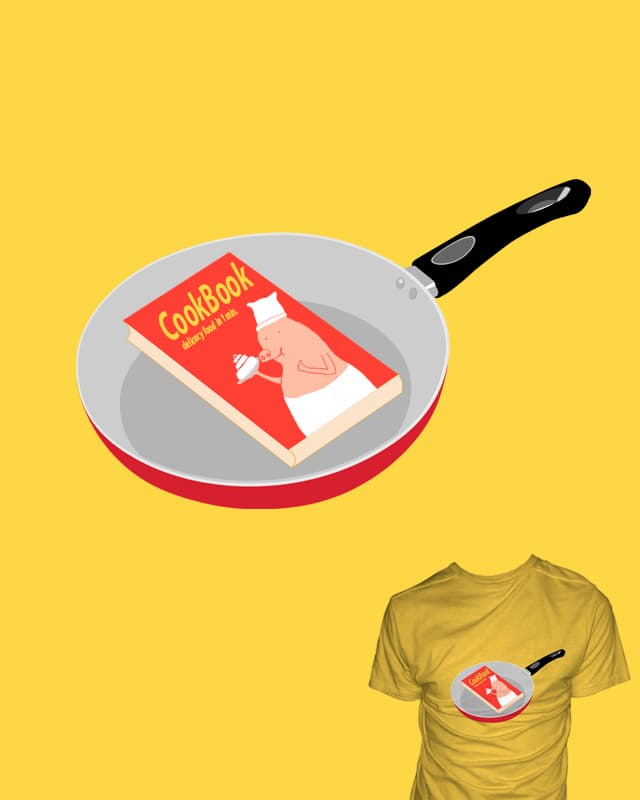 CookBook by Calvin Wu on Threadless