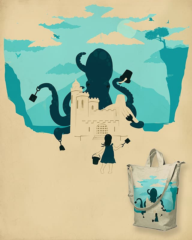 Castle Made of Sand by DontCallMeBlanket on Threadless