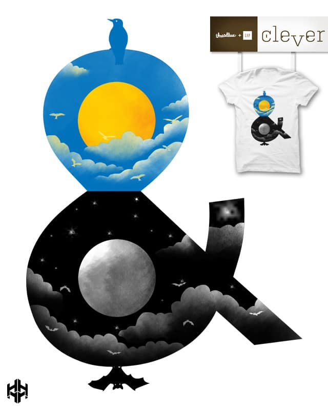 day and night by sayahelmi on Threadless